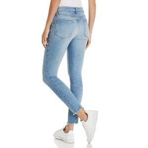 FRAME Denim Le High Skinny Jeans  Size 27 Raw hem